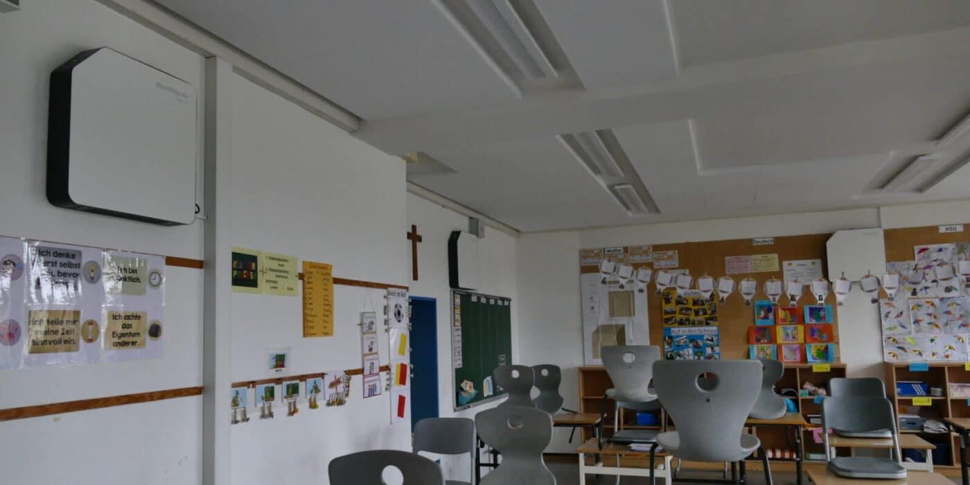SteriWhite Air Q115 Luftreiniger in der Schule