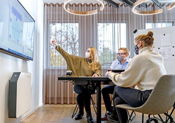 UVC Luftentkeimung in Büros und Meetingräumen