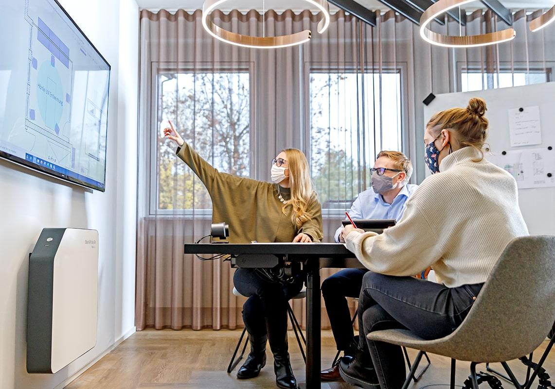 Büros und Meetingräume