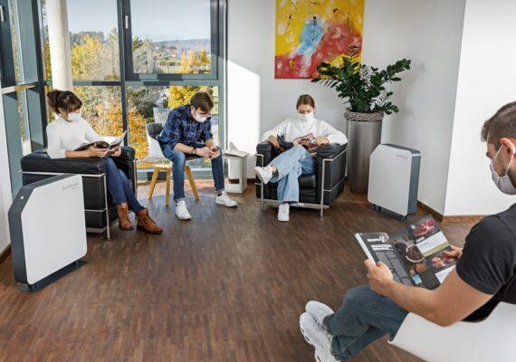 UVC Luftkeimung in Wartezimmer und Arztpraxen